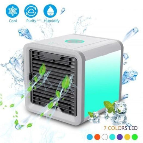 Air Purifiers Humidifier Portable Air Cooling Night Light Air Conditioner