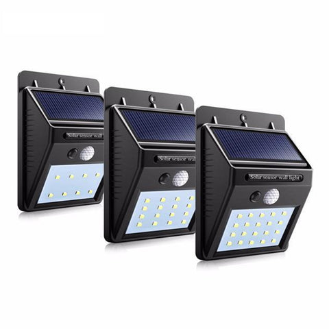 Home & Garden Wall Mounted Led Motion Sensor Solar Lights