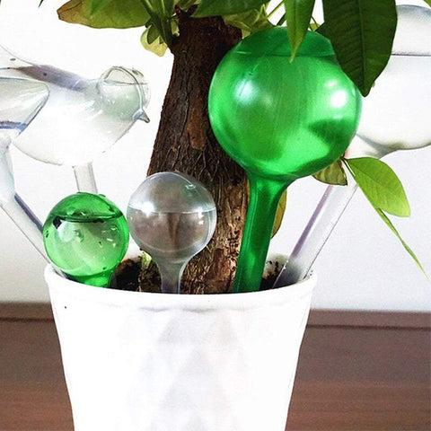 Garden Care & Watering Water-Releasing Globe (4Pcs) Stakes Automatic Water Bulbs