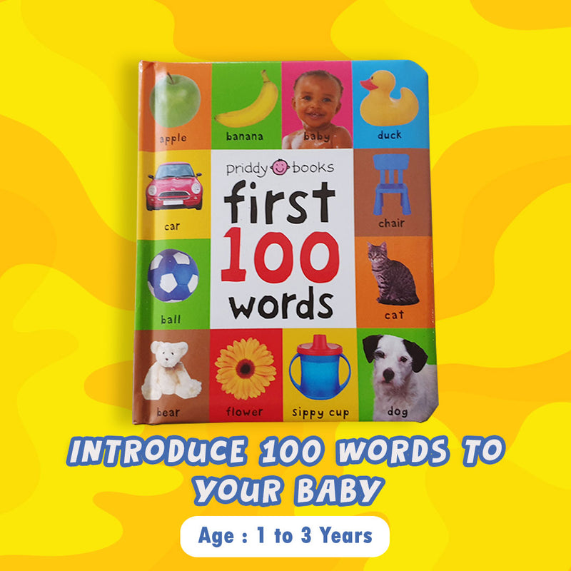 Priddy Books: First 100 Words (Board Book)