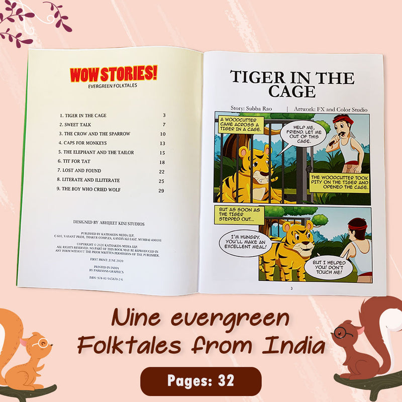 WOW Stories! - Evergreen Folktales