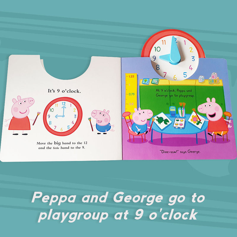 Peppa's Busy Day (Board Book)