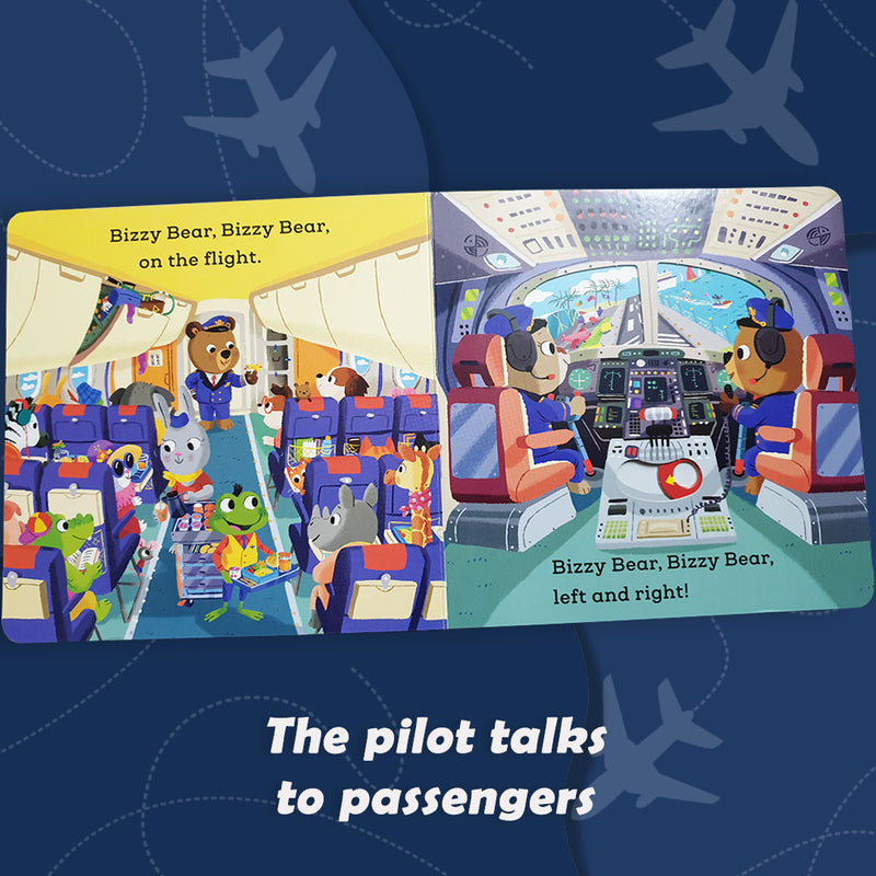 Bizzy Bear - Aeroplane Pilot (Board Book)