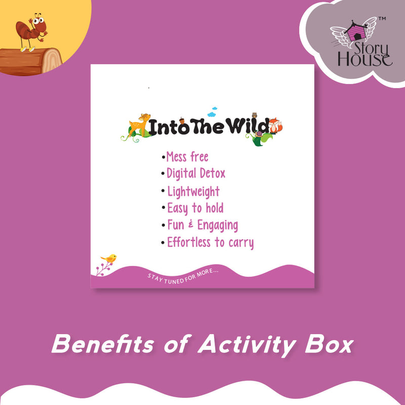 Reusable Activity Cards - Into the Wild