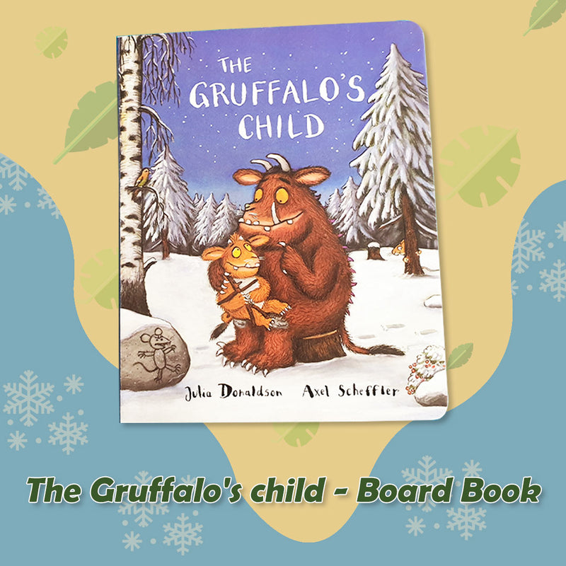 The Gruffalo & The Gruffalo's Child (Board Books)