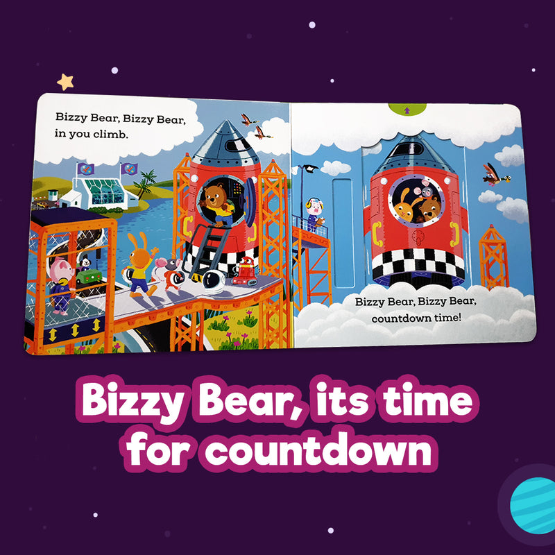 Bizzy Bear - Space Rocket (Board Book)