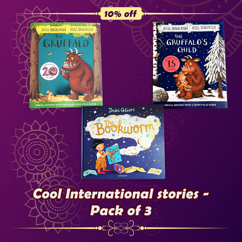 Cool International Stories - Set of 3 books