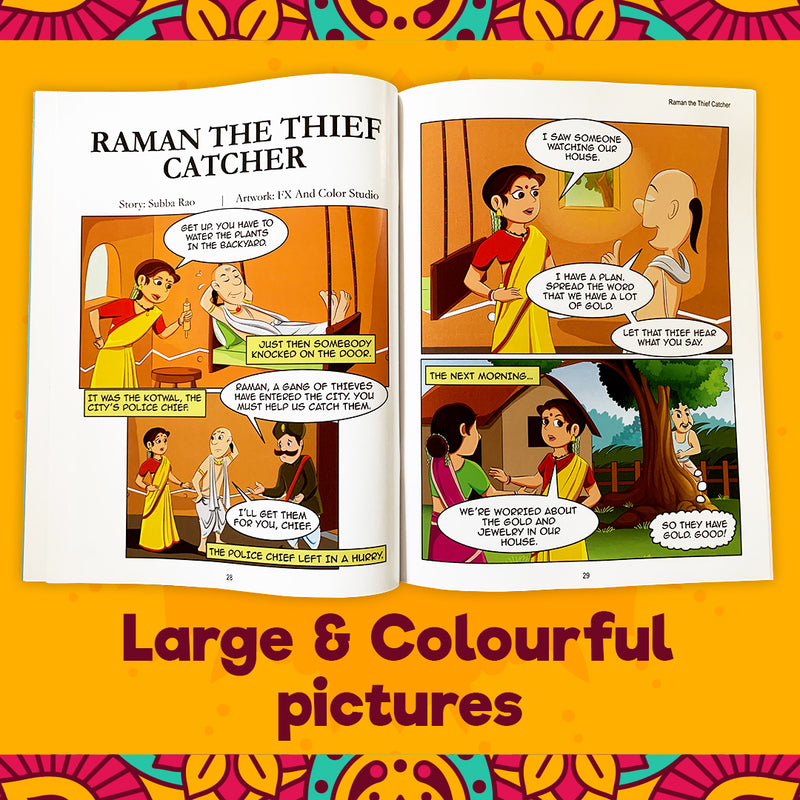 Laugh with Tenali Raman