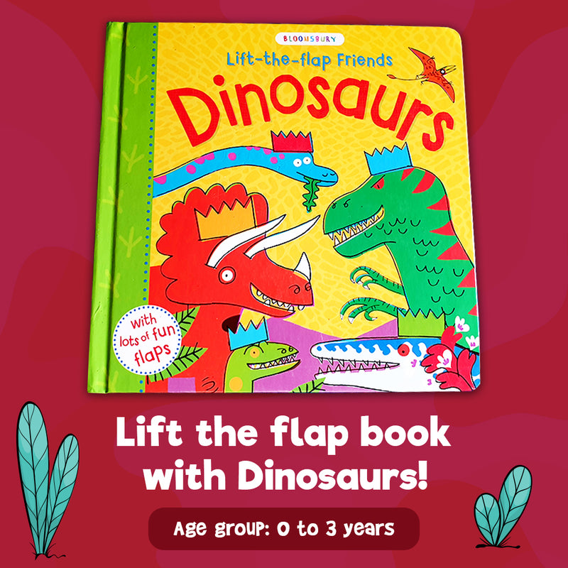 Lift the flap friends - Dinosaurs