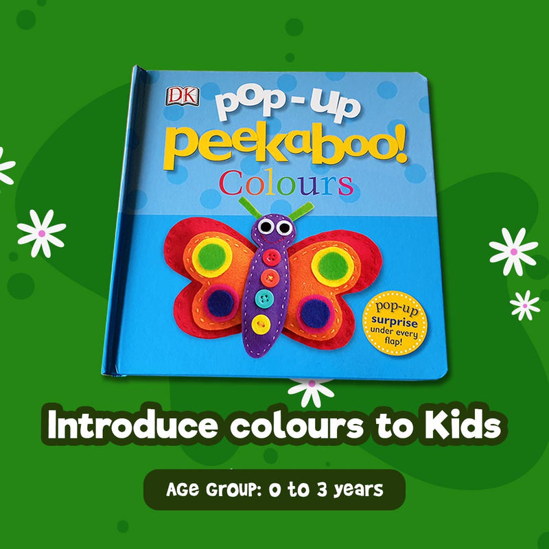 Pop Up Peekaboo - Colours
