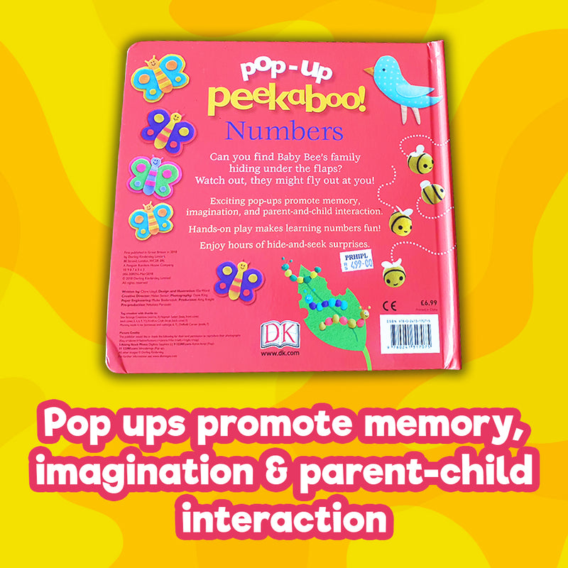 Pop up Peekaboo - Numbers