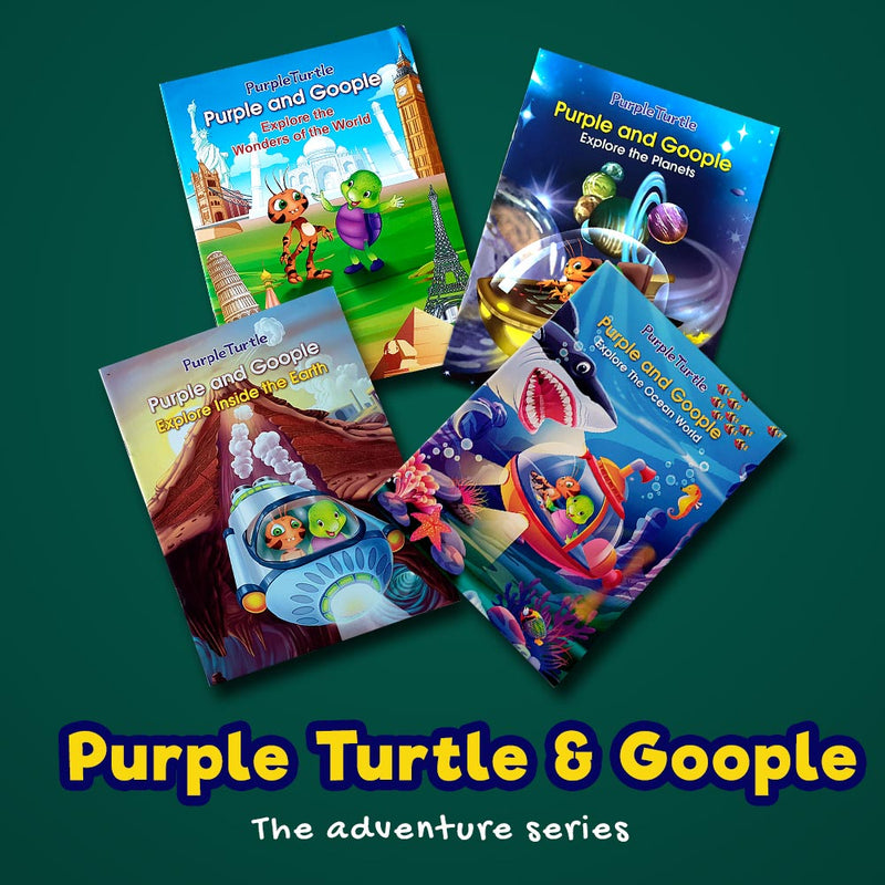 Purple Turtle Adventure Series (Set of 4 books)
