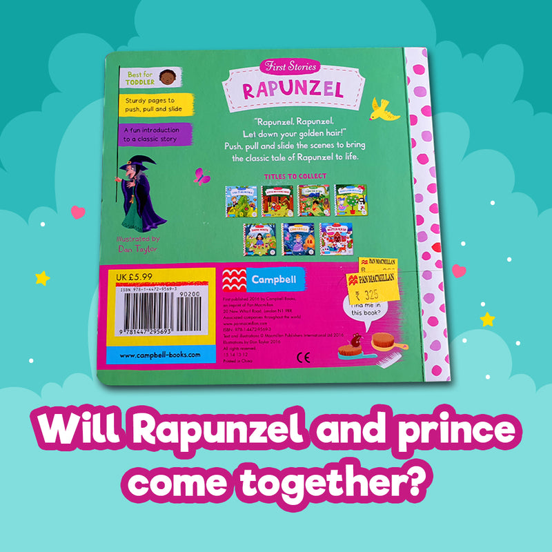 Rapunzel (First Stories) - Board Book