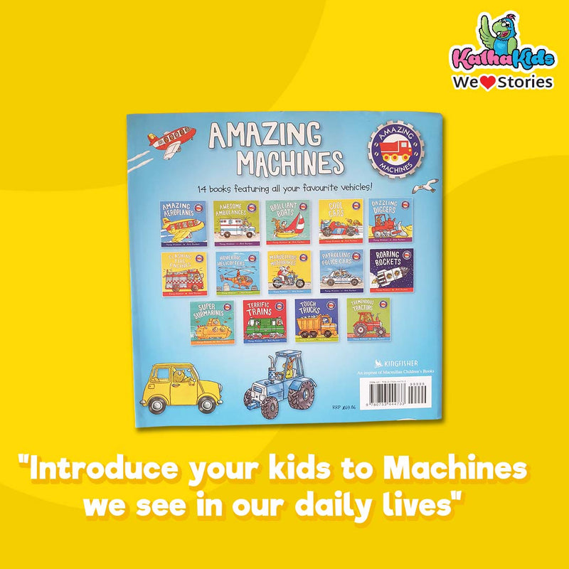 Amazing Machines - set of 14 books