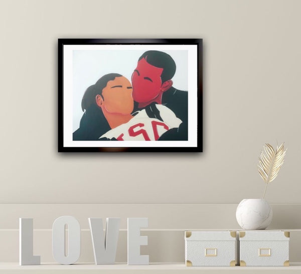 Love and Basketball Print