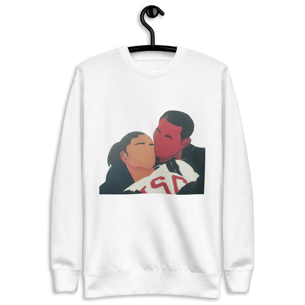 Love and Basketball Crew Neck