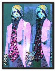 Kathleen Ross | Jungen in den Ouchy Pink Flower Jackets