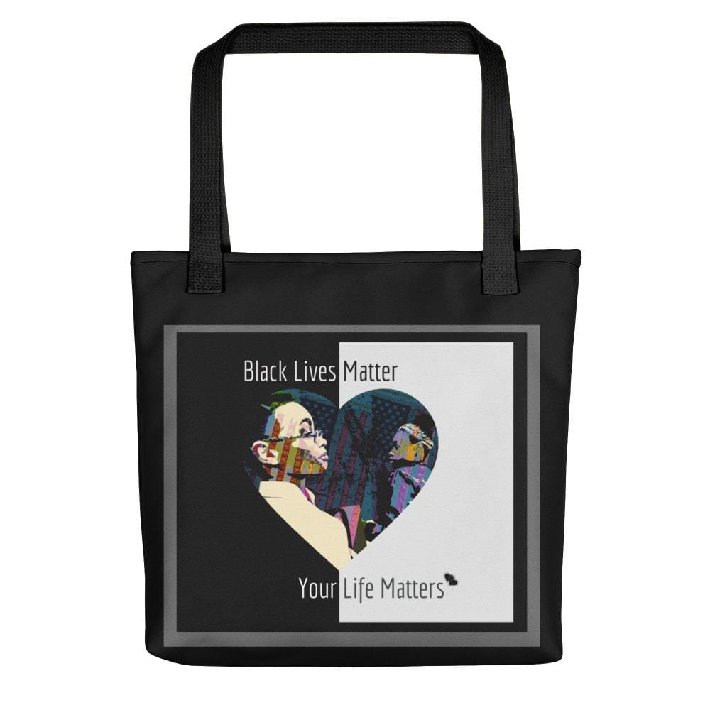 Bolsa de tela Black Lives Matters-Your Life Matters