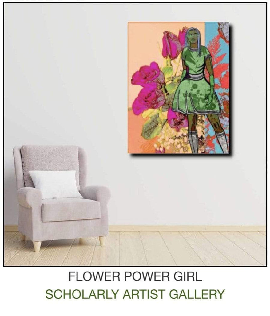 Flower Power Girl Einstellung 1 Open Edition