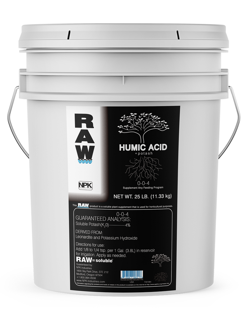 RAW Humic Acid