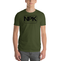 NPK Short-Sleeve T-Shirt Black Logo