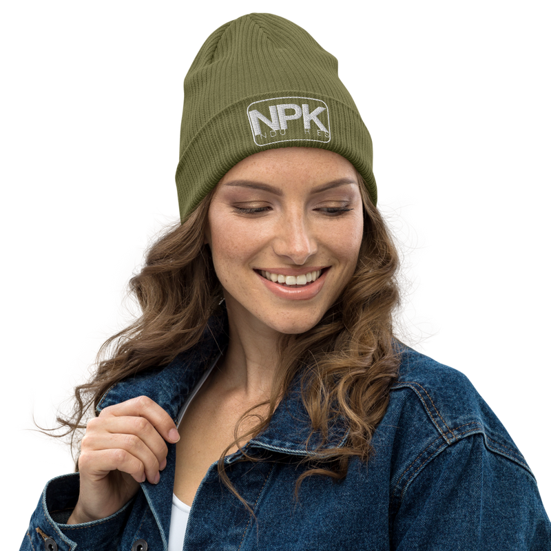 NPK Organic Embroidered Beanie