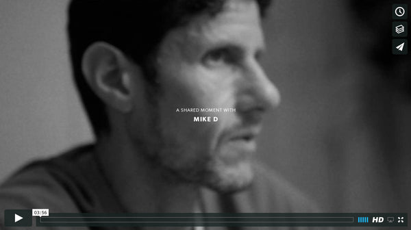 A Shared Moment with Mike D