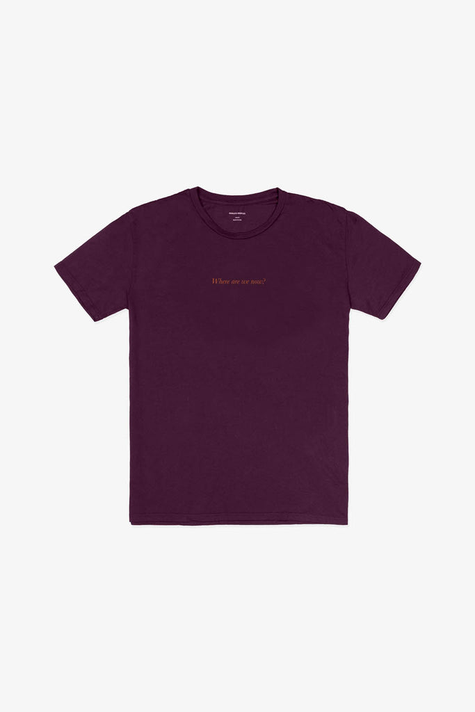 Quality Peoples Unisex Graphic T-Shirt Paradise! Wine Front