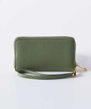 Boon Supply Vegan Leather Wristlet