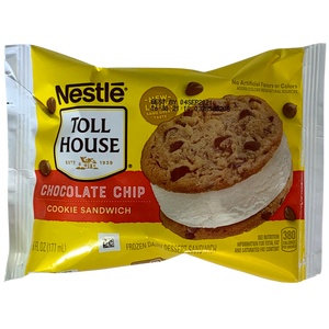Nestle Tollhouse Ice-Cream Chocolate Chip Cookie