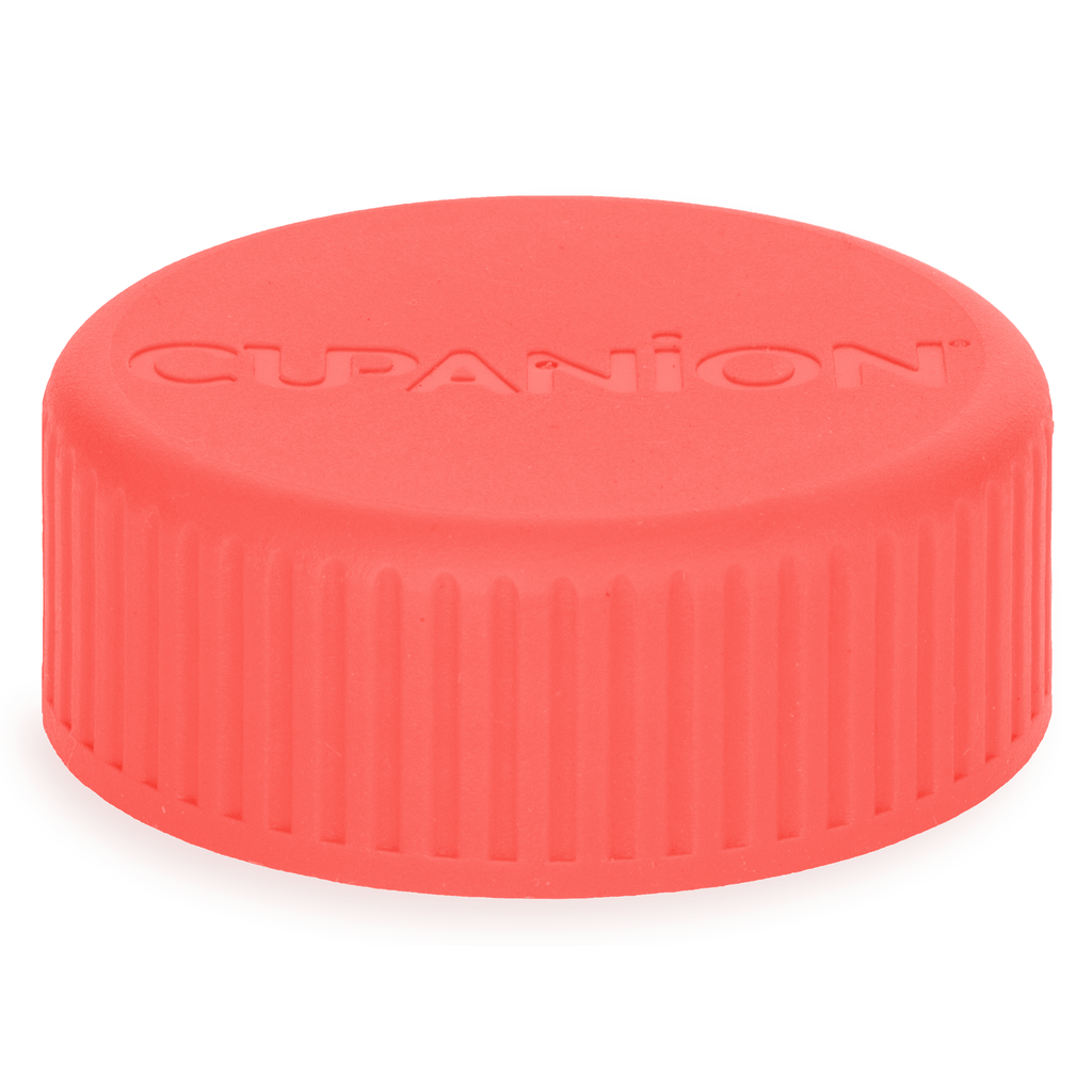 Living Coral - Cupanion Reusable Water Bottle Lid