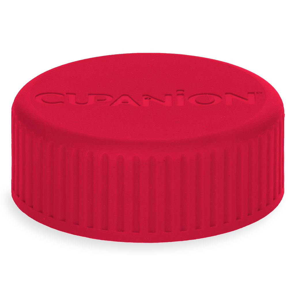 Cardinal Red - Cupanion Reusable Water Bottle Lid