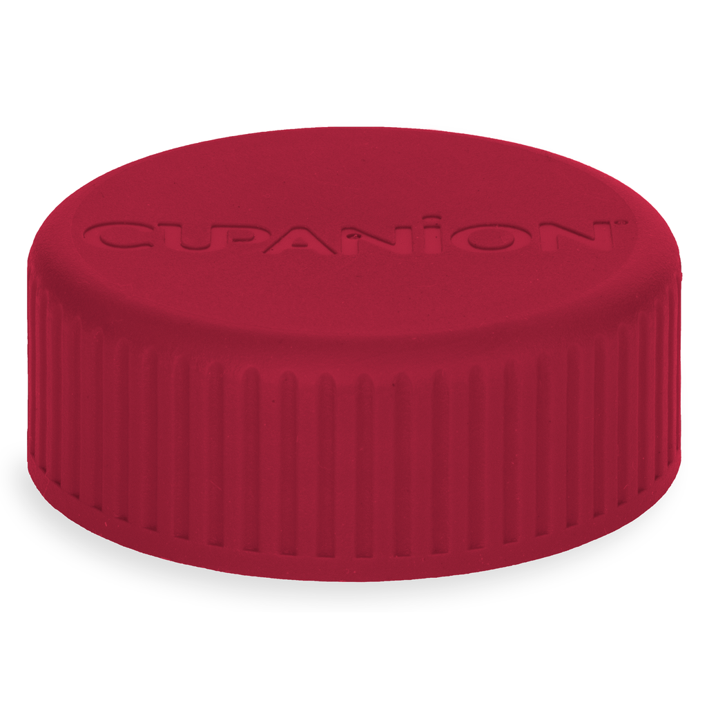 Raspberry Red - Cupanion Reusable Water Bottle Lid