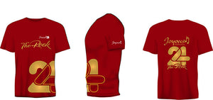 Red Joyous 24 T-shirt