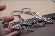 Load image into Gallery viewer, Personalized Name Keyring - Happy Maker