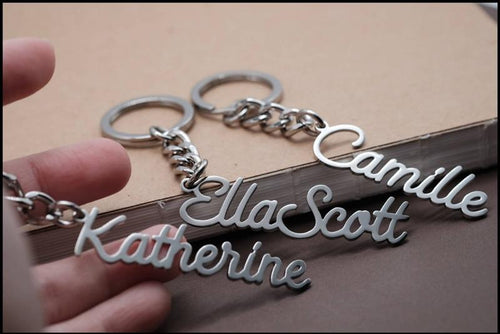 Personalized Name Keyring - Happy Maker