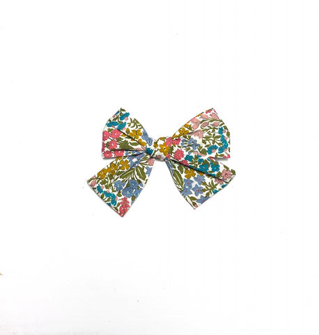 Liberty Pink & Blue Bow