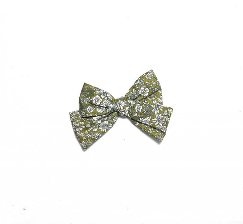 Liberty Olive Bow