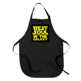 BEST SOUL IN THE GALAXY - APRON APRONS Black DEARSOUL