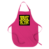 BEST SOUL IN THE GALAXY - APRON APRONS Hot Pink DEARSOUL