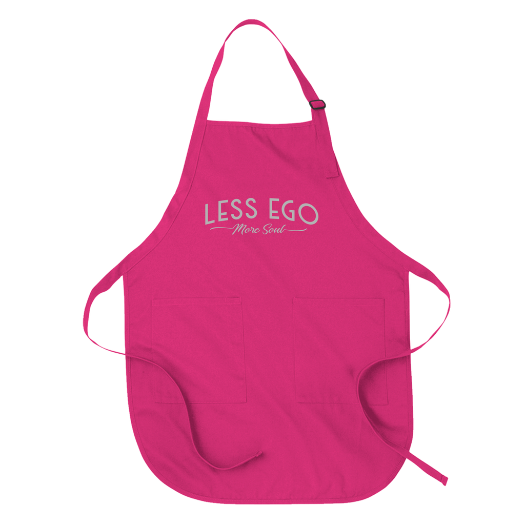 LESS EGO MORE SOUL - APRON APRONS Hot Pink DEARSOUL