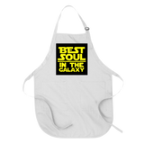 BEST SOUL IN THE GALAXY - APRON APRONS White DEARSOUL