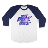 BE THE ENERGY YOU WANT-UNISEX RAGLAN - AMERICAN APPAREL DEARSOUL