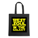 BEST SOUL IN GALAXY 1-TOTE BAG Black DEARSOUL