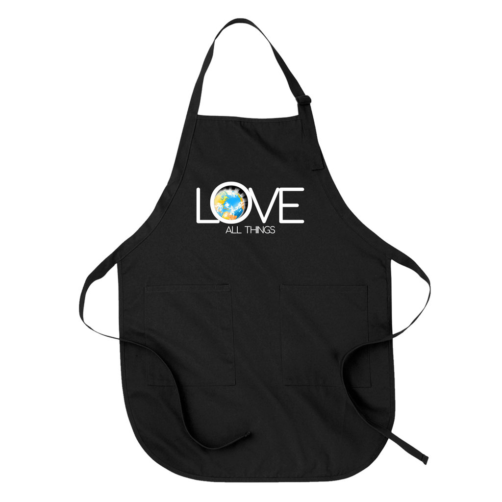LOVE ALL THINGS - APRON Black DEARSOUL