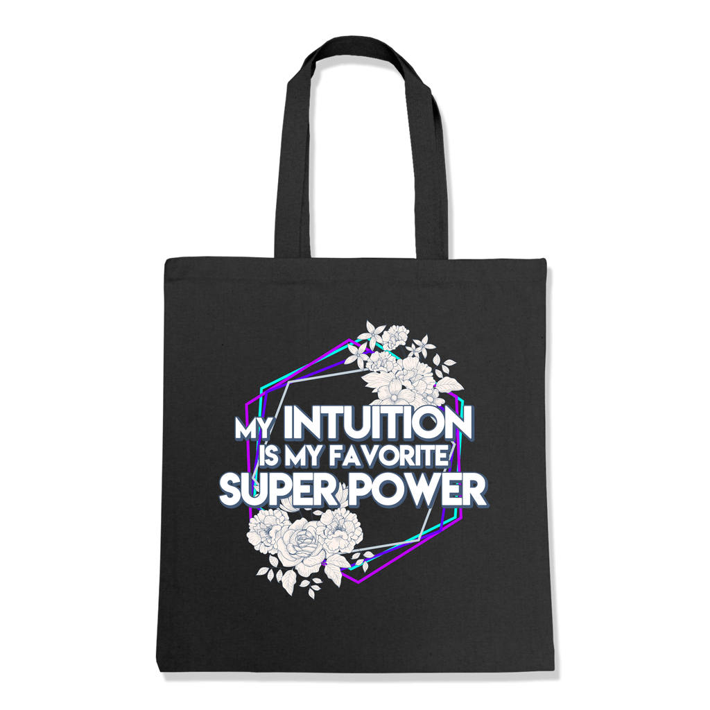 SUPER POWER-TOTE BAG Black DEARSOUL