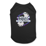 SUPER POWER - DOG TANK TOP Dog Tank Black / XS DEARSOUL