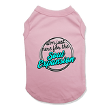 I'M JUST HERE FOR THE SOUL EXPANSION - DOG TANK TOP Dog Tank Light Pink / XS DEARSOUL