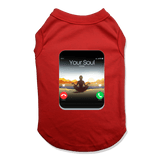 5G CELL PHONE - DOG TANK TOP DOG TANK Red / XS DEARSOUL