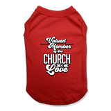 CHURCH OF SOUL - DOG TANK TOP Dog Tank Red / XS DEARSOUL